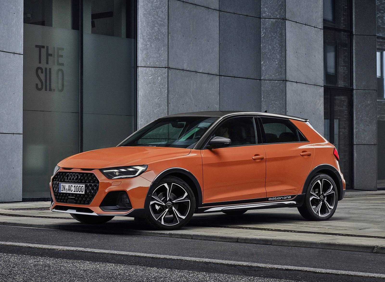 2020 Audi A1 Citycarver (Color: Pulse Orange) Front Three-Quarter Wallpapers (12)