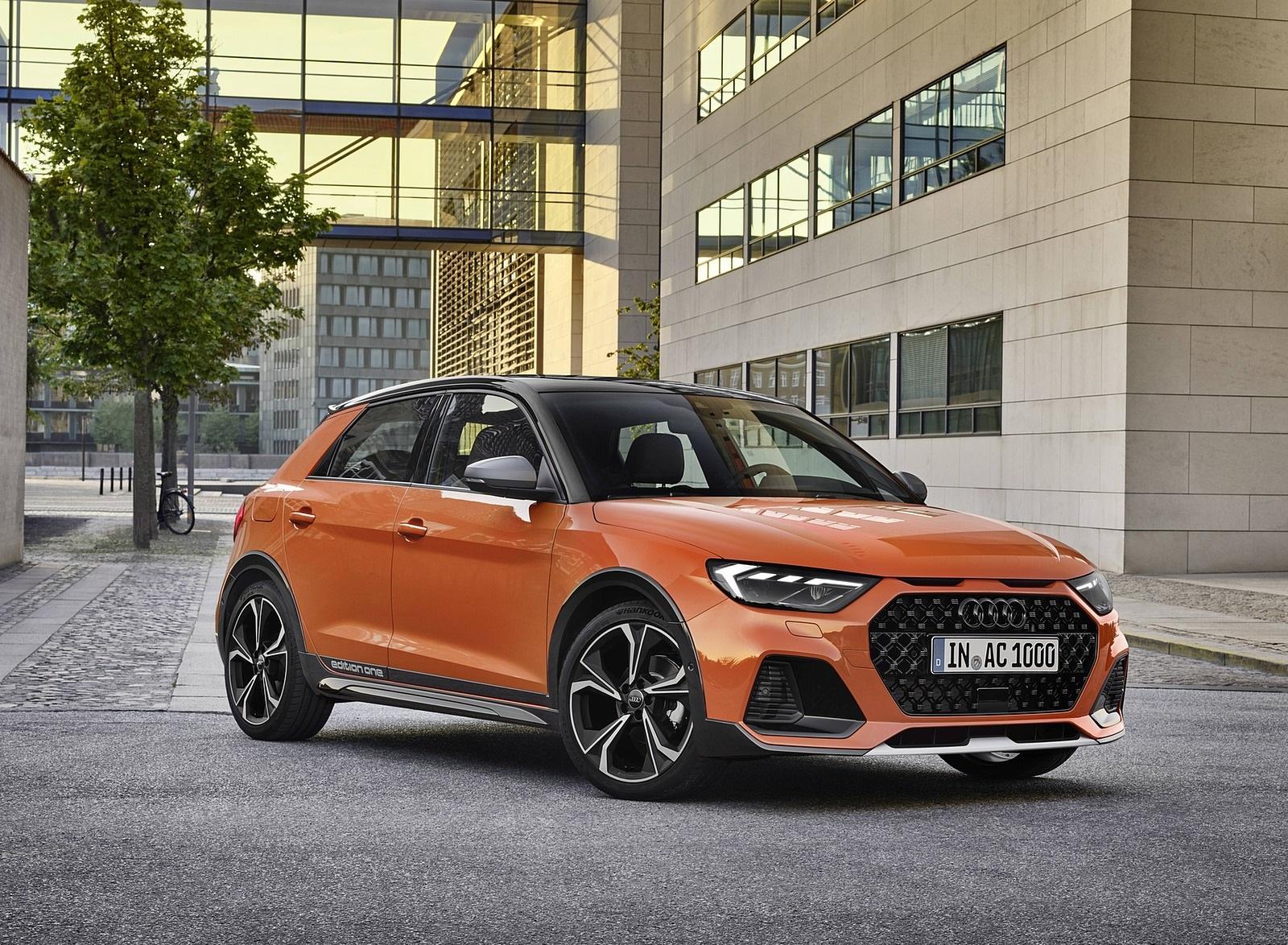 2020 Audi A1 Citycarver (Color: Pulse Orange) Front Three-Quarter Wallpapers (13)