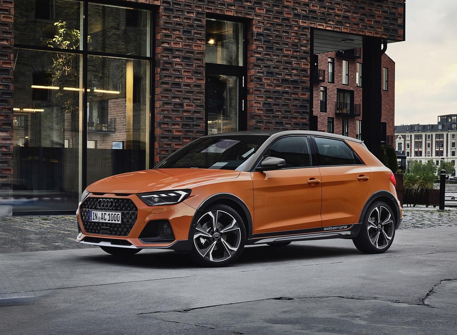 2020 Audi A1 Citycarver (Color: Pulse Orange) Front Three-Quarter Wallpapers (14)