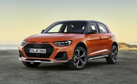 2020 Audi A1 Citycarver (Color: Pulse Orange) Front Three-Quarter Wallpapers 450x275 (79)