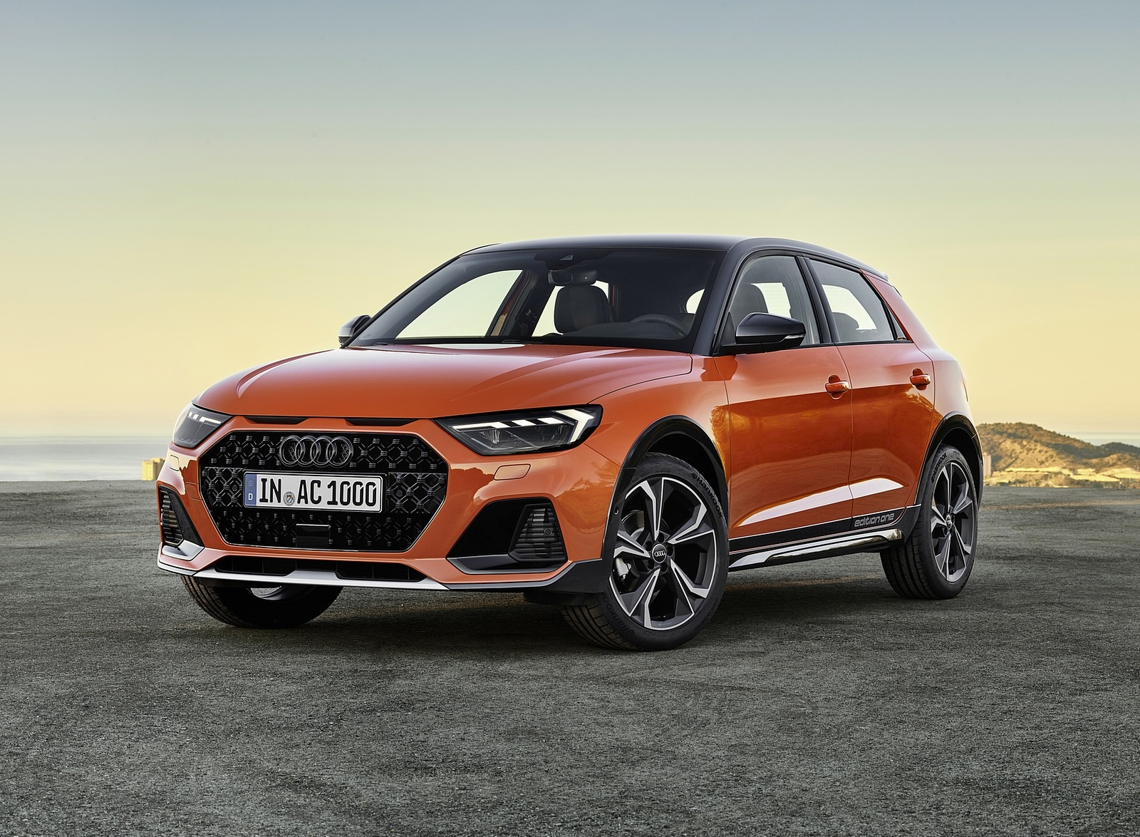 2020 Audi A1 Citycarver (Color: Pulse Orange) Front Three-Quarter Wallpapers (15)