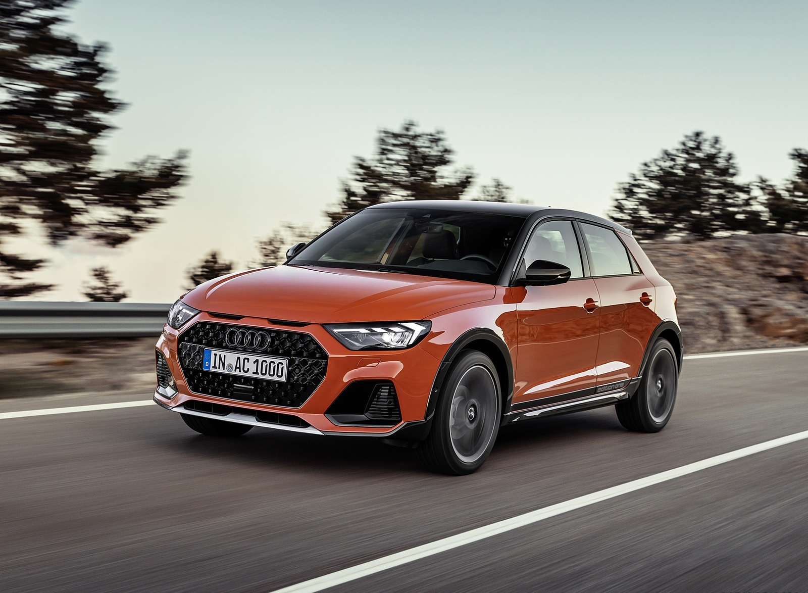 2020 Audi A1 Citycarver (Color: Pulse Orange) Front Three-Quarter Wallpapers (2)