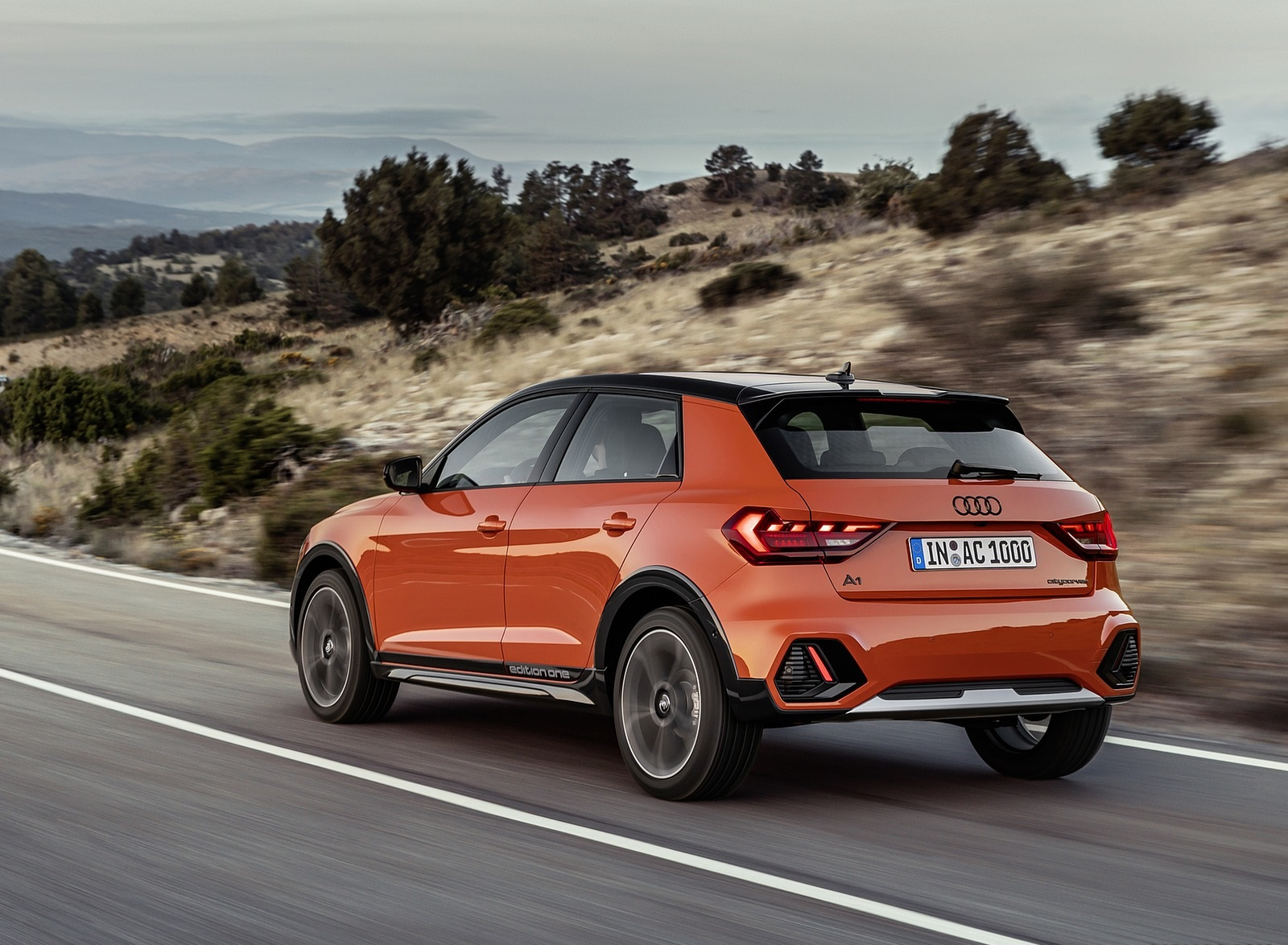 2020 Audi A1 Citycarver (Color: Pulse Orange) Rear Three-Quarter Wallpapers (4)