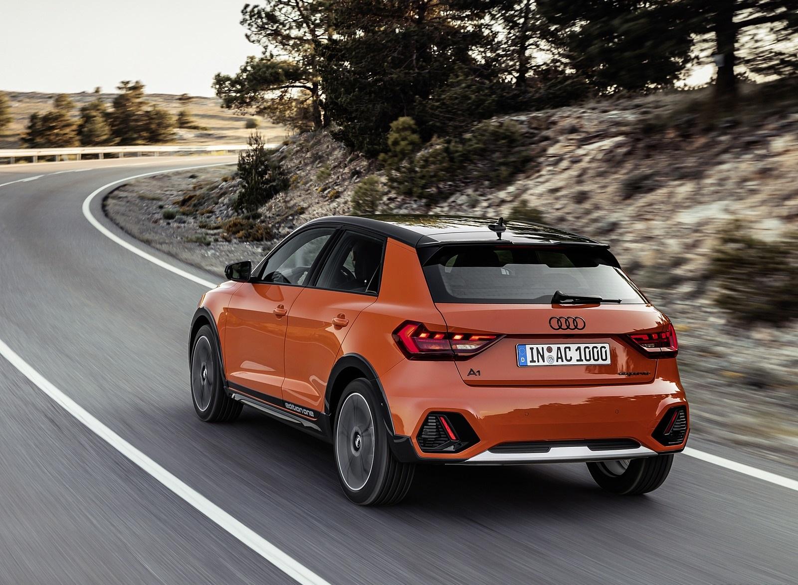 2020 Audi A1 Citycarver (Color: Pulse Orange) Rear Three-Quarter Wallpapers (5)