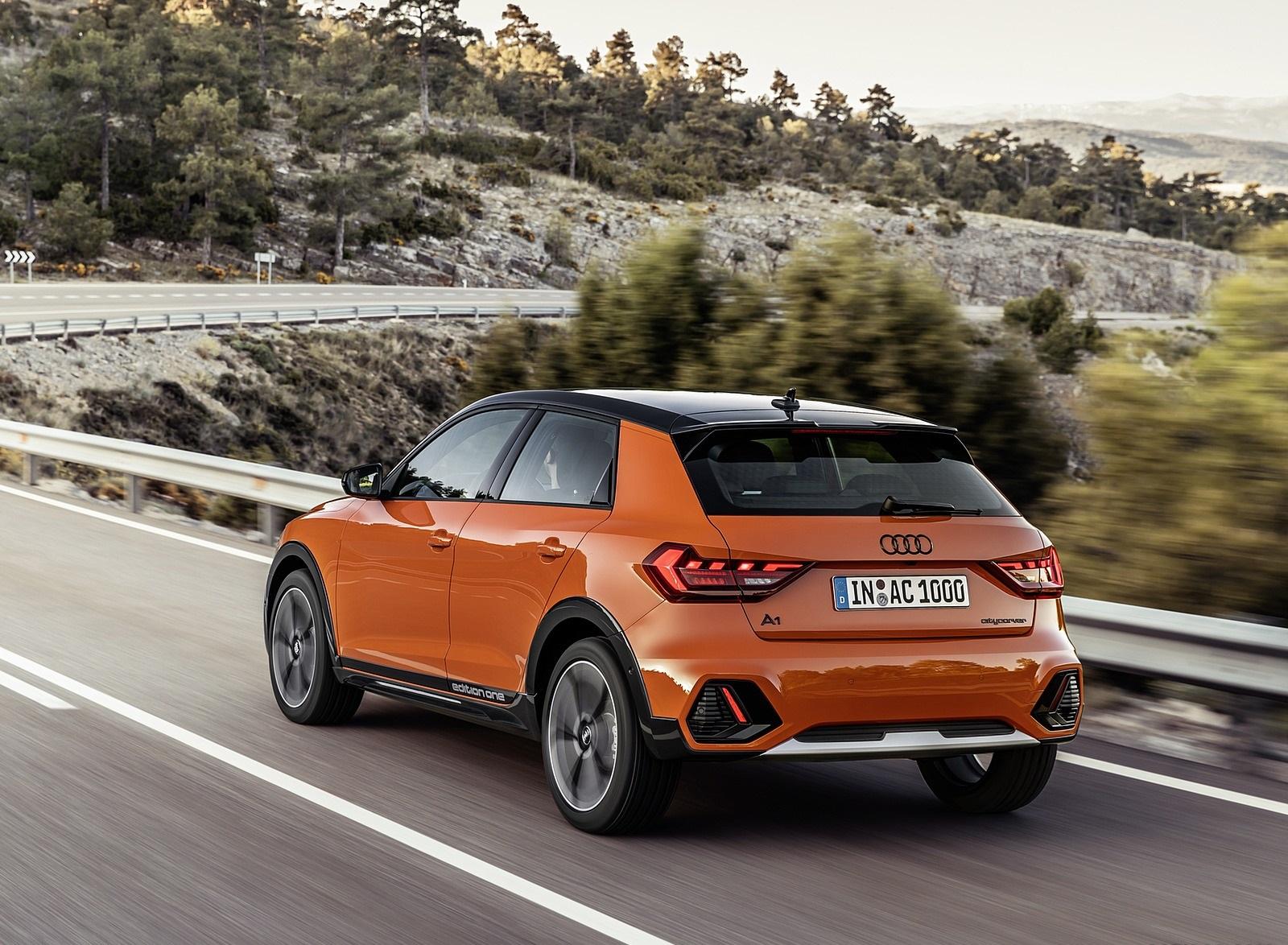 2020 Audi A1 Citycarver (Color: Pulse Orange) Rear Three-Quarter Wallpapers (6)