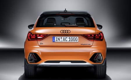 2020 Audi A1 Citycarver (Color: Pulse Orange) Rear Wallpapers 450x275 (97)