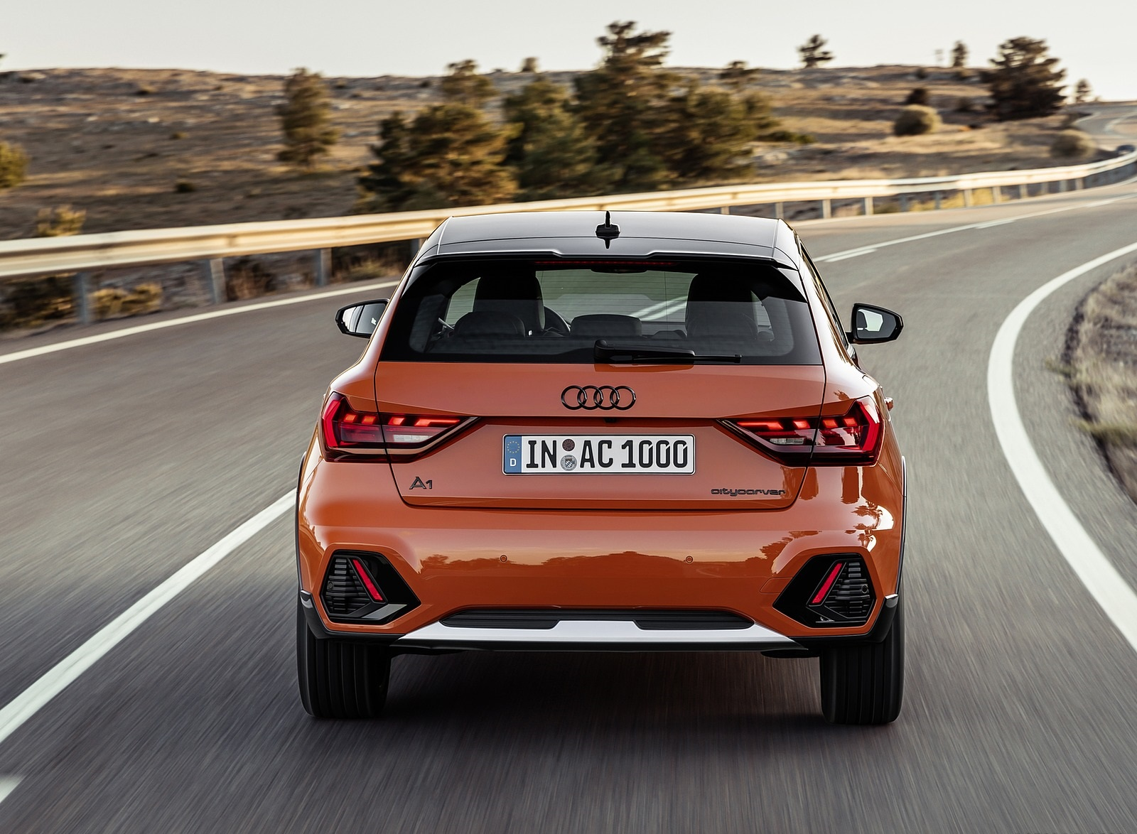 2020 Audi A1 Citycarver (Color: Pulse Orange) Rear Wallpapers (7)