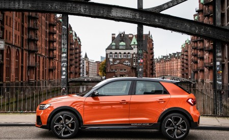 2020 Audi A1 Citycarver (Color: Pulse Orange) Side Wallpapers 450x275 (33)