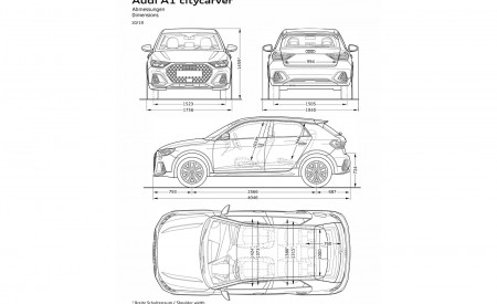 2020 Audi A1 Citycarver Dimensions Wallpapers 450x275 (64)