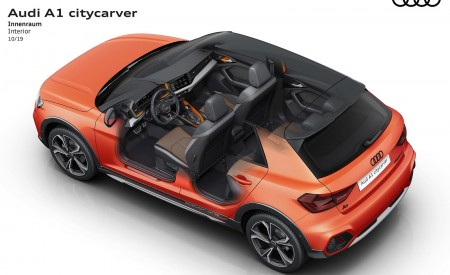 2020 Audi A1 Citycarver Interior Wallpapers 450x275 (59)
