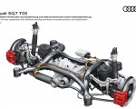2020 Audi SQ7 TDI Five link rear suspension with allwheel stearing and electro-mechanical aktive roll stabilization Wallpapers 150x120 (23)