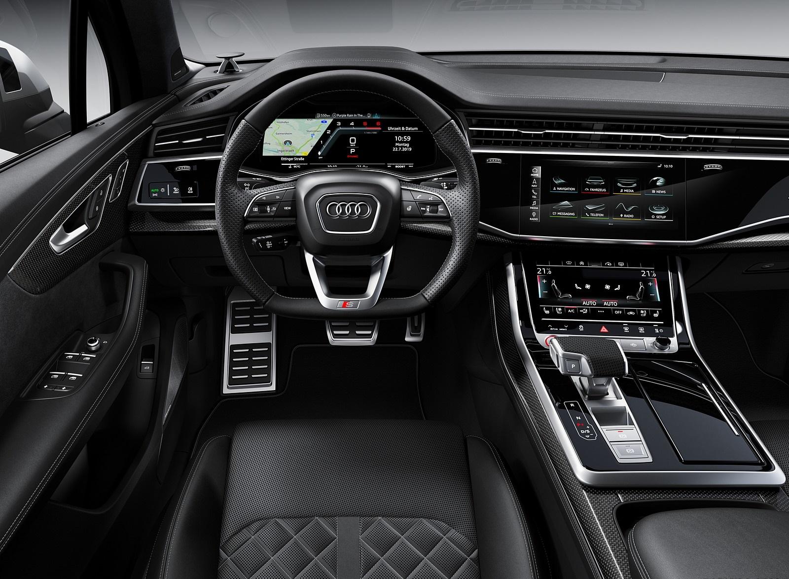2020 Audi SQ7 TDI Interior Cockpit Wallpapers (13)