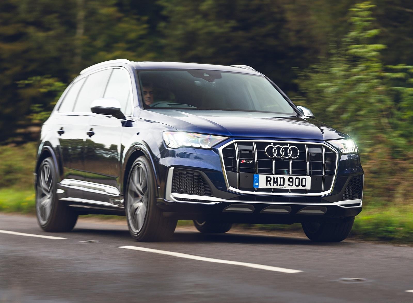 2020 Audi SQ7 TDI Vorsprung (UK-Spec) Front Three-Quarter Wallpapers (4)