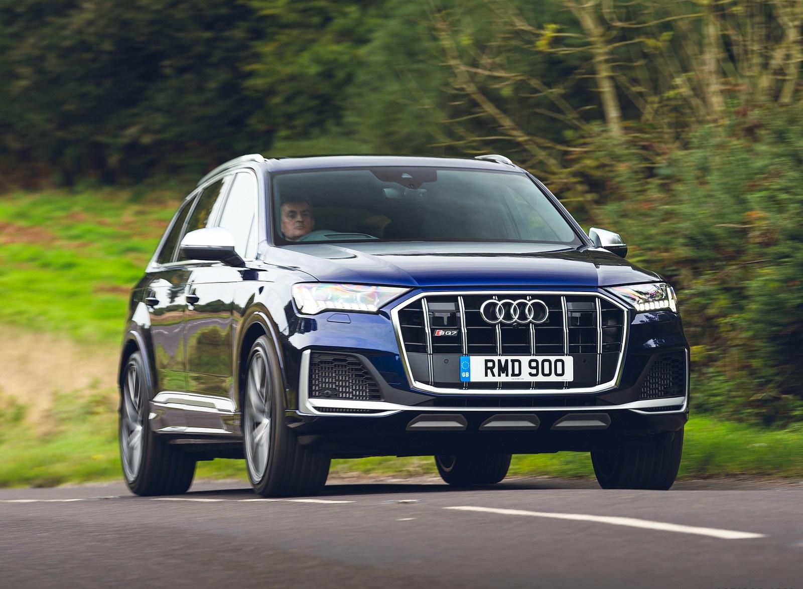 2020 Audi SQ7 TDI Vorsprung (UK-Spec) Front Wallpapers (1)