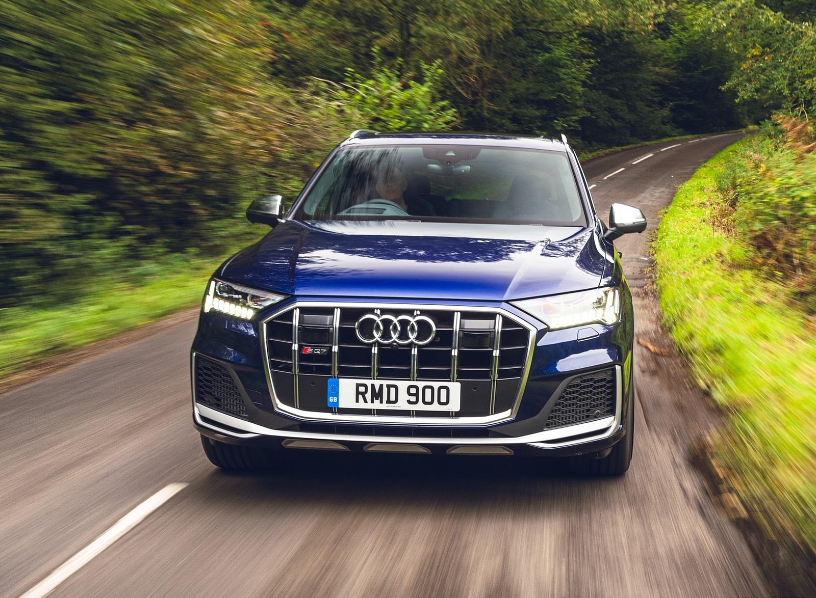2020 Audi SQ7 TDI Vorsprung (UK-Spec) Front Wallpapers (11)