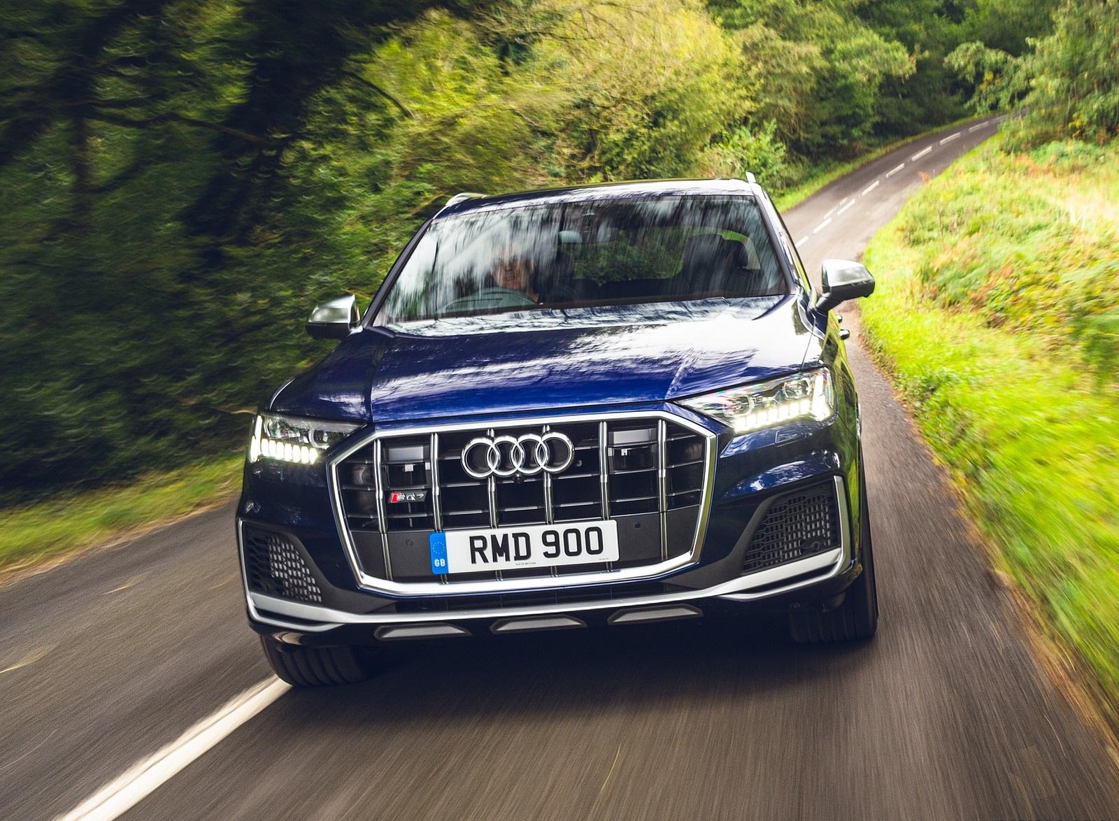 2020 Audi SQ7 TDI Vorsprung (UK-Spec) Front Wallpapers (12)