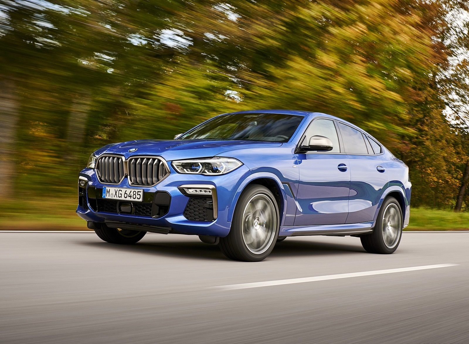 2020 BMW X6 M50i Front Three-Quarter Wallpapers (9)
