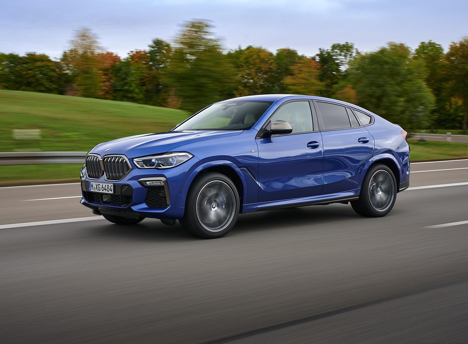 2020 BMW X6 M50i Front Three-Quarter Wallpapers (10)