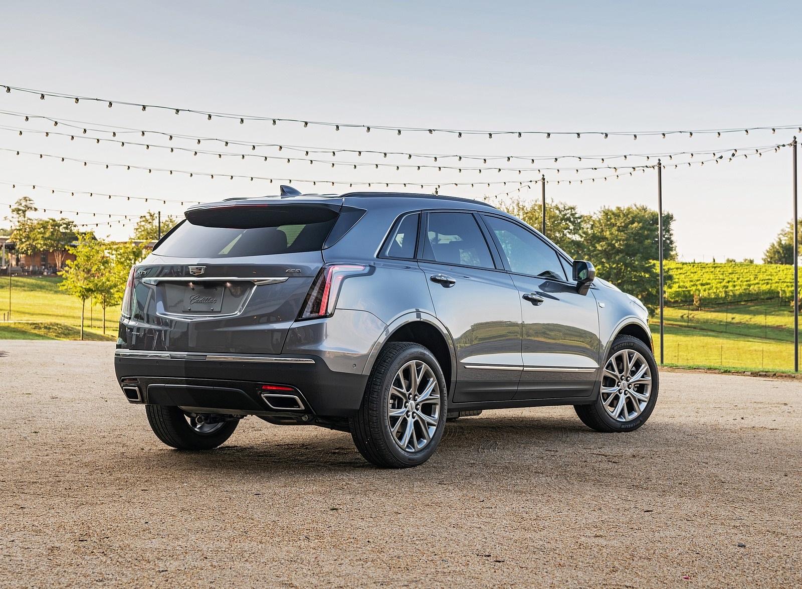 2020 Cadillac XT5 Sport Rear Three-Quarter Wallpapers (8)