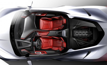 2020 Chevrolet Corvette C8 Stingray Design Sketch Wallpapers 450x275 (161)