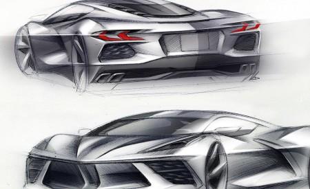 2020 Chevrolet Corvette C8 Stingray Design Sketch Wallpapers 450x275 (163)