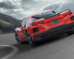 2020 Chevrolet Corvette C8 Stingray Rear Three-Quarter Wallpapers 150x120 (5)