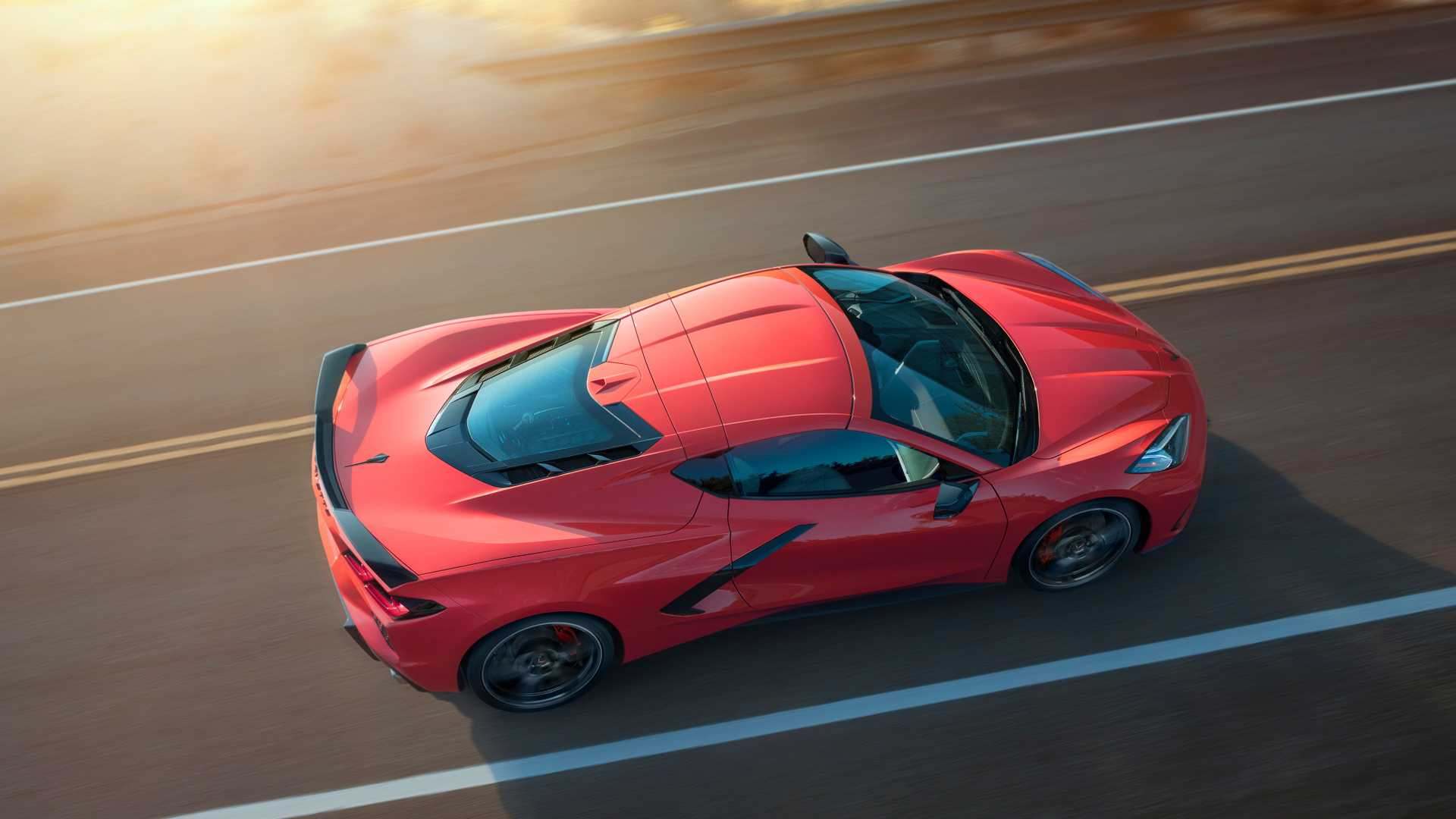 2020 Chevrolet Corvette C8 Stingray Top Wallpapers (1)