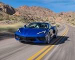 2020 Chevrolet Corvette Stingray (Color: Elkhart Lake Blue Metallic) Front Three-Quarter Wallpapers 150x120 (44)