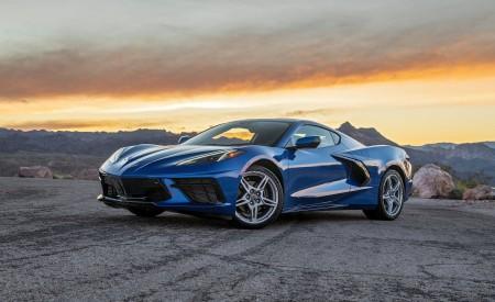 2020 Chevrolet Corvette Stingray (Color: Elkhart Lake Blue Metallic) Front Three-Quarter Wallpapers 450x275 (52)