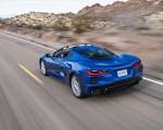 2020 Chevrolet Corvette Stingray (Color: Elkhart Lake Blue Metallic) Rear Three-Quarter Wallpapers 150x120 (48)