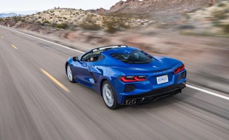 2020 Chevrolet Corvette Stingray (Color: Elkhart Lake Blue Metallic) Rear Three-Quarter Wallpapers 450x275 (48)