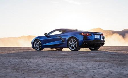 2020 Chevrolet Corvette Stingray (Color: Elkhart Lake Blue Metallic) Rear Three-Quarter Wallpapers 450x275 (56)