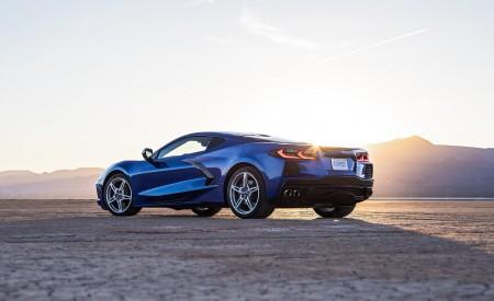 2020 Chevrolet Corvette Stingray (Color: Elkhart Lake Blue Metallic) Rear Three-Quarter Wallpapers 450x275 (57)