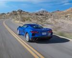 2020 Chevrolet Corvette Stingray (Color: Elkhart Lake Blue Metallic) Rear Three-Quarter Wallpapers 150x120 (49)