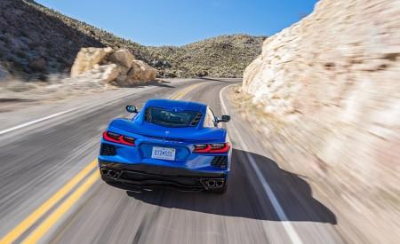 2020 Chevrolet Corvette Stingray (Color: Elkhart Lake Blue Metallic) Rear Wallpapers 450x275 (50)