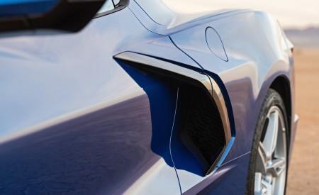 2020 Chevrolet Corvette Stingray (Color: Elkhart Lake Blue Metallic) Side Vent Wallpapers 450x275 (59)
