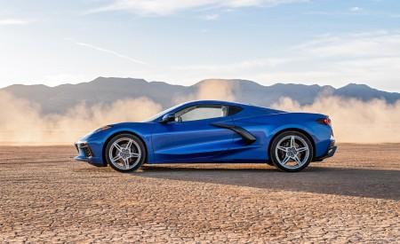 2020 Chevrolet Corvette Stingray (Color: Elkhart Lake Blue Metallic) Side Wallpapers 450x275 (58)