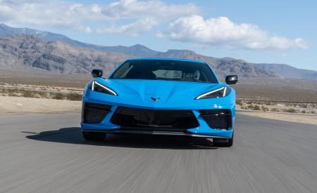 2020 Chevrolet Corvette Stingray (Color: Rapid Blue) Front Wallpapers 450x275 (77)