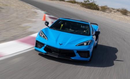 2020 Chevrolet Corvette Stingray (Color: Rapid Blue) Front Wallpapers 450x275 (73)