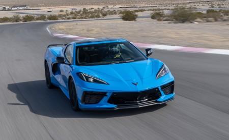 2020 Chevrolet Corvette Stingray (Color: Rapid Blue) Front Wallpapers 450x275 (79)