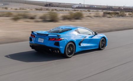 2020 Chevrolet Corvette Stingray (Color: Rapid Blue) Rear Three-Quarter Wallpapers 450x275 (80)
