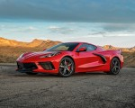 2020 Chevrolet Corvette Stingray (Color: Torch Red) Front Three-Quarter Wallpapers 150x120 (23)