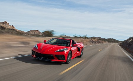 2020 Chevrolet Corvette Stingray (Color: Torch Red) Front Three-Quarter Wallpapers 450x275 (14)
