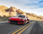 2020 Chevrolet Corvette Stingray (Color: Torch Red) Front Three-Quarter Wallpapers 150x120 (15)