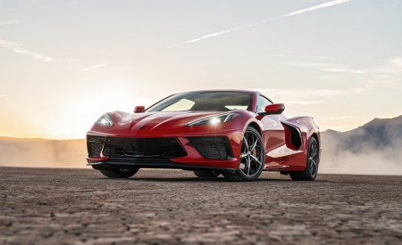 2020 Chevrolet Corvette Stingray (Color: Torch Red) Front Wallpapers 450x275 (24)