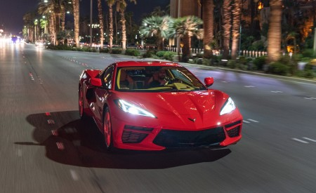 2020 Chevrolet Corvette Stingray (Color: Torch Red) Front Wallpapers 450x275 (30)