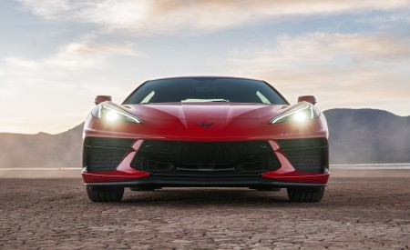 2020 Chevrolet Corvette Stingray (Color: Torch Red) Front Wallpapers 450x275 (25)