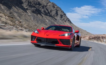 2020 Chevrolet Corvette Stingray (Color: Torch Red) Front Wallpapers 450x275 (16)