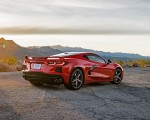 2020 Chevrolet Corvette Stingray (Color: Torch Red) Rear Three-Quarter Wallpapers 150x120 (26)