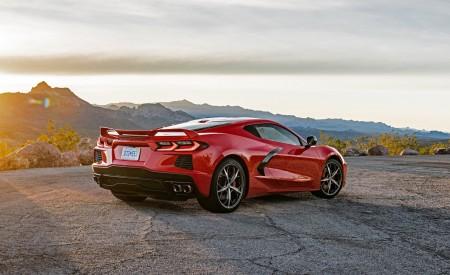 2020 Chevrolet Corvette Stingray (Color: Torch Red) Rear Three-Quarter Wallpapers 450x275 (26)